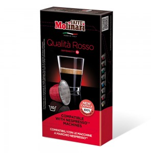 Rosso Compatible with Nespresso, Coffee Machines