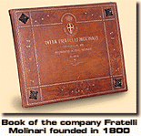 Book Of The Company Fratelli Molinari Founded In 1800