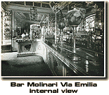 Bar Molinari Via Emillia Internal View