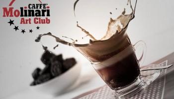 caffe molinari cup beverage splash