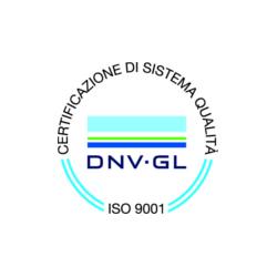 UNI EN ISO 9001:2008 (since 1999)